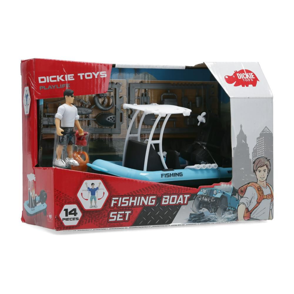 Figura De Accion Dickie Toys Fishing Boat image number 0.0
