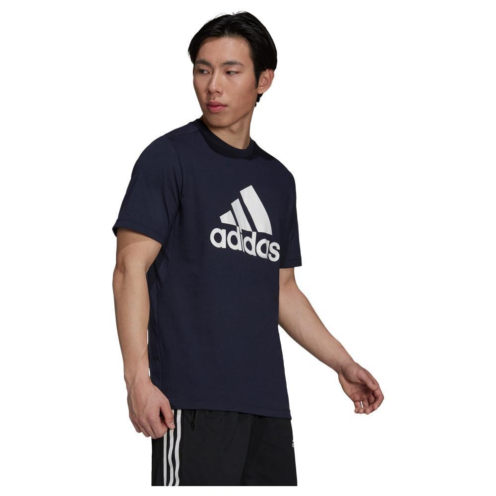 Polera Hombre Adidas D2m Feelready Logo image number 0.0