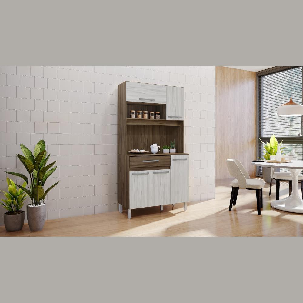 Mueble De Cocina Home Mobili Frank / 5 Puertas / 1 Cajón image number 2.0