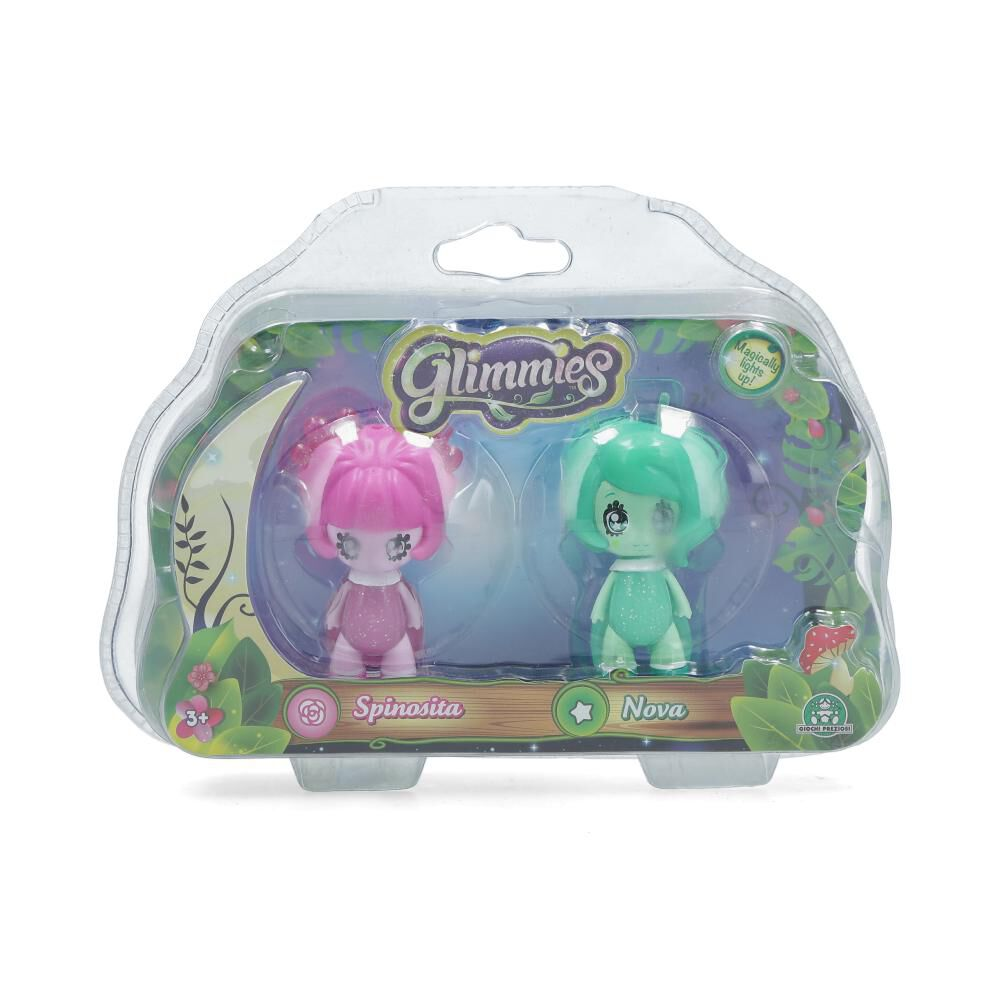 Mini Muñeca Glimmies Double Blister Clam