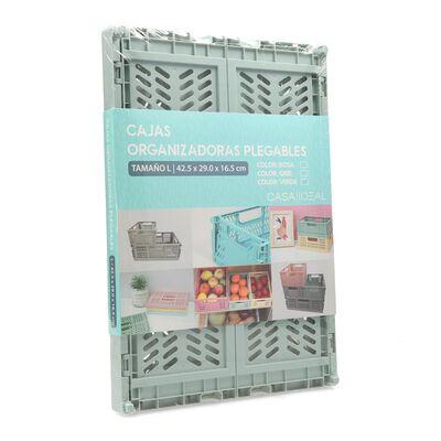 Caja Organizadora Casaideal Grande Verde