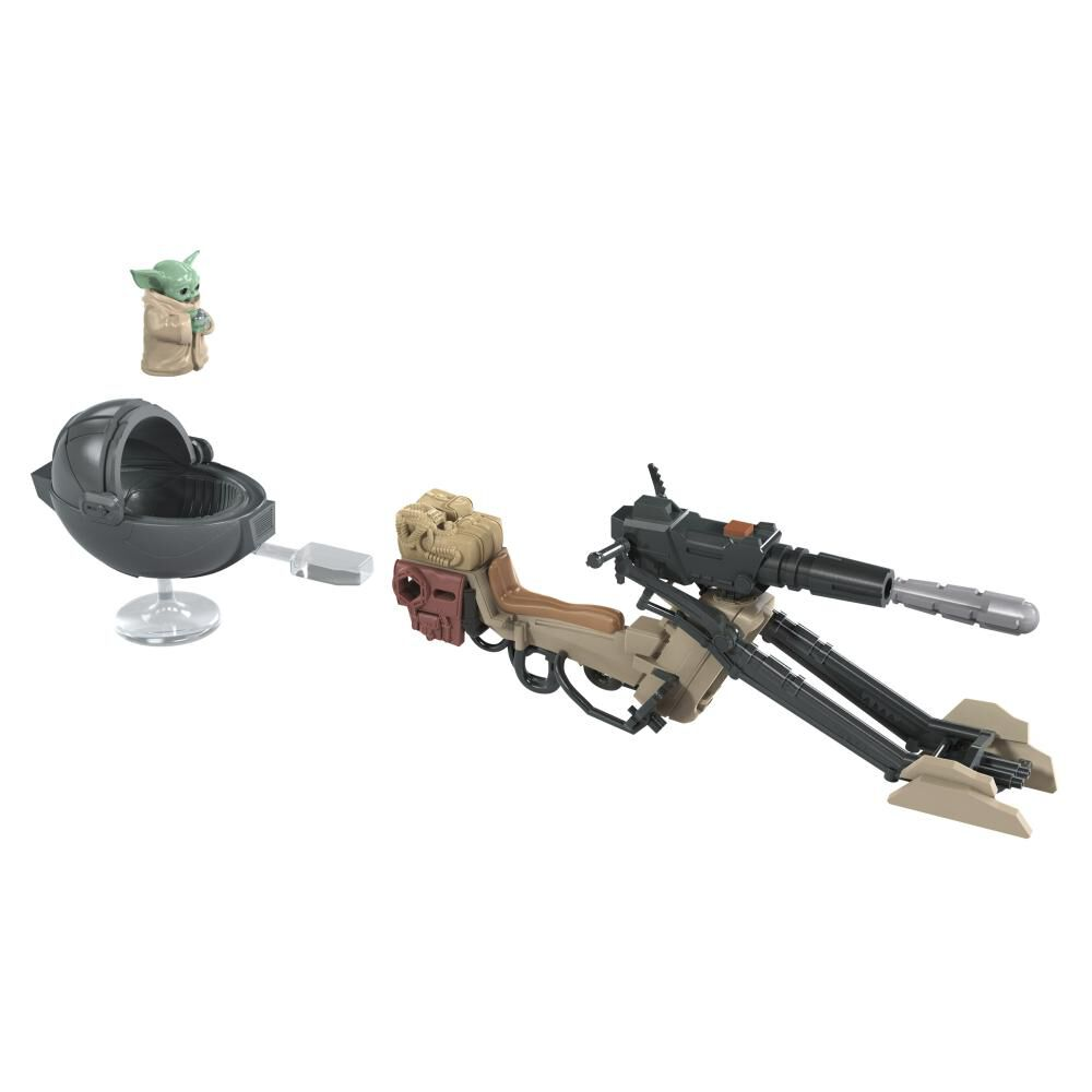 Figura Star Wars Mission Fleet Expedition Class The Mandalorian The Child Battle For The Bounty image number 4.0