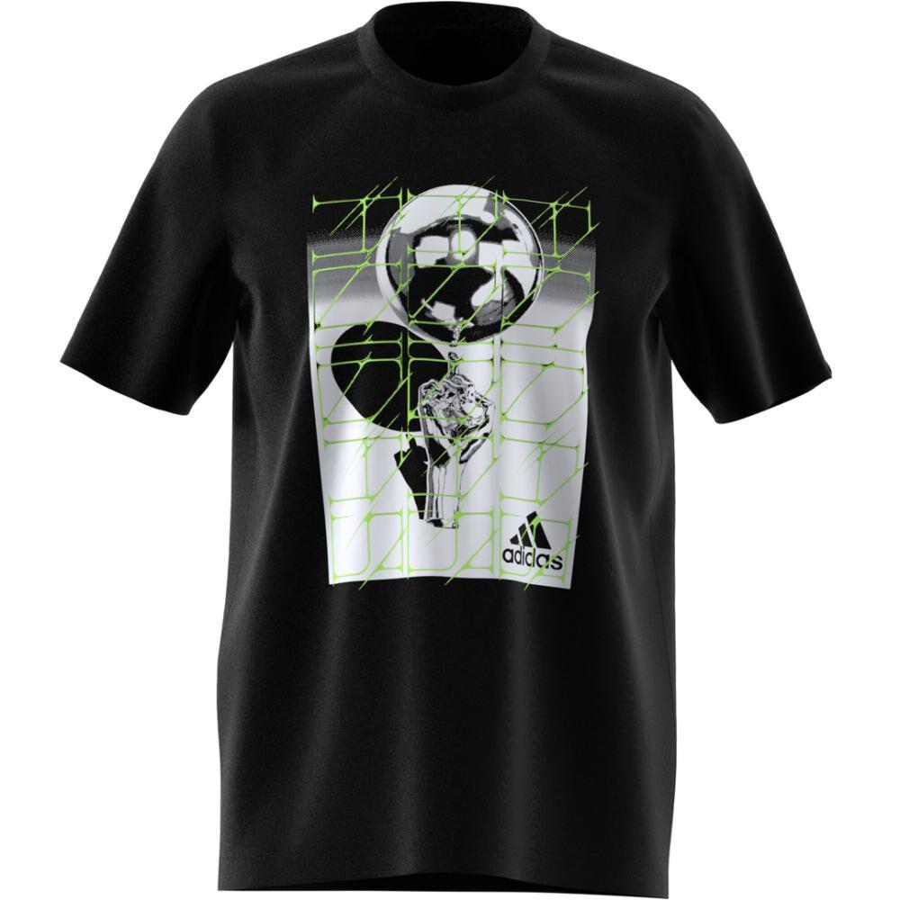 Polera Hombre Adidas M Hyperreal Ballspin Tee image number 1.0