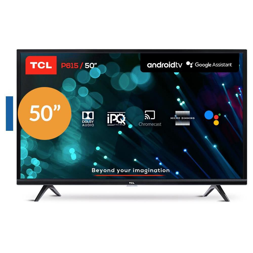 Led TCL 50P615 / 50'' / Ultra HD 4K / Android Tv image number 0.0