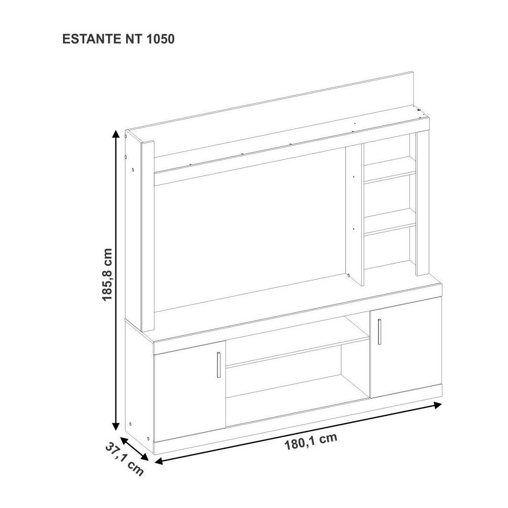 Estante Casaideal Home image number 4.0