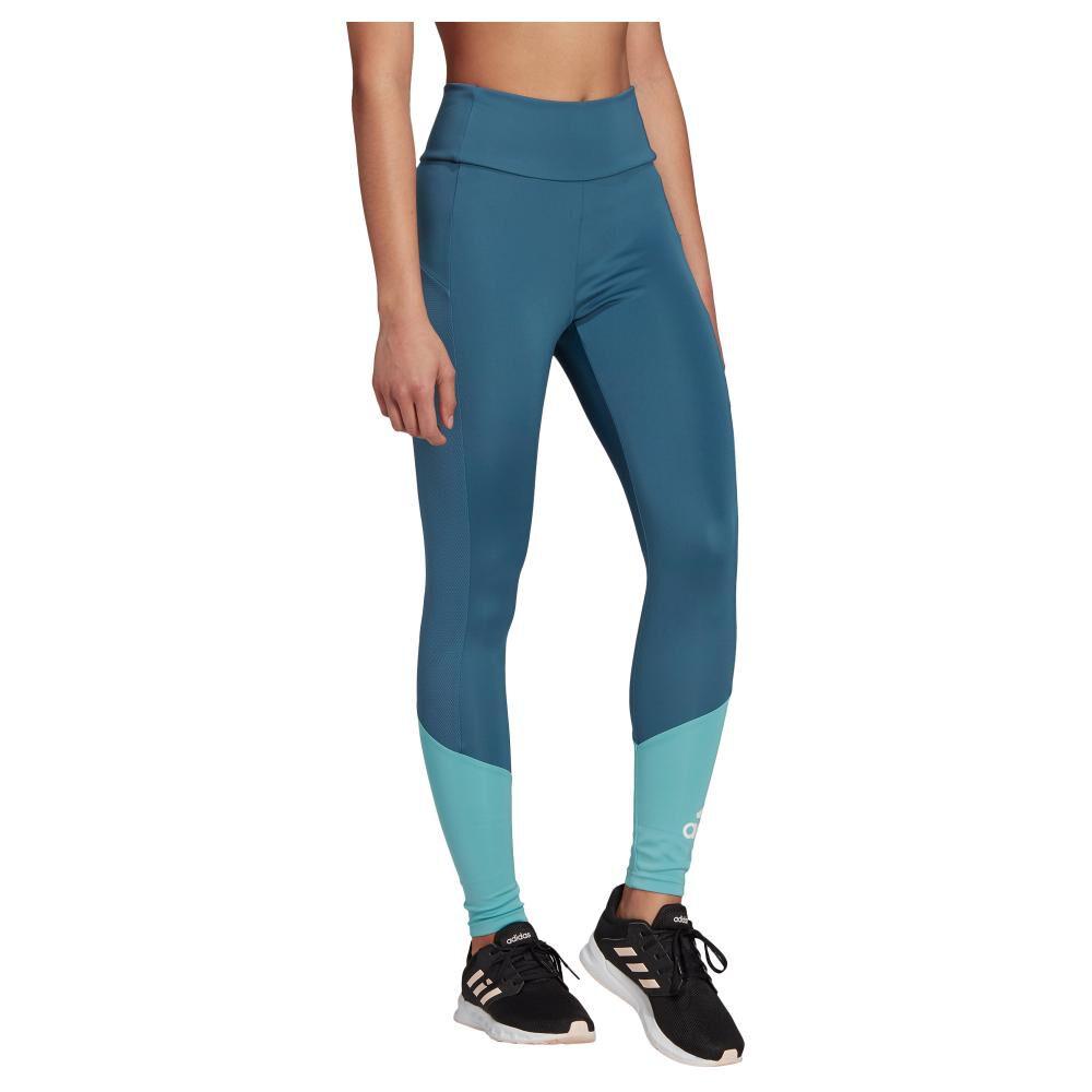 Calza Mujer Adidas Designed To Move Big Logo image number 1.0