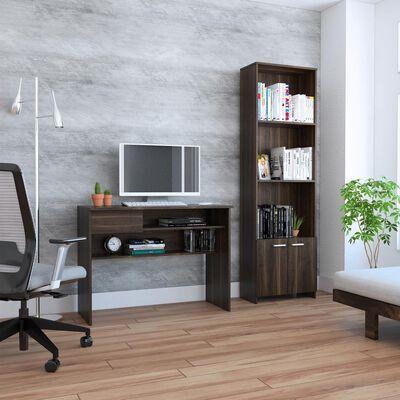 Combo Casaideal Office 5 / Biblioteca + Escritorio