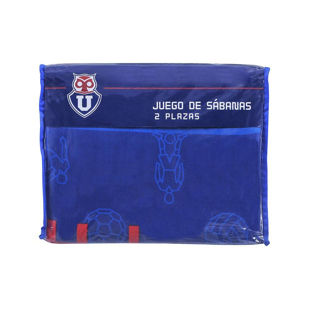 Juego De Sábanas U.de Chile Classic / 2 Plazas image number 2.0