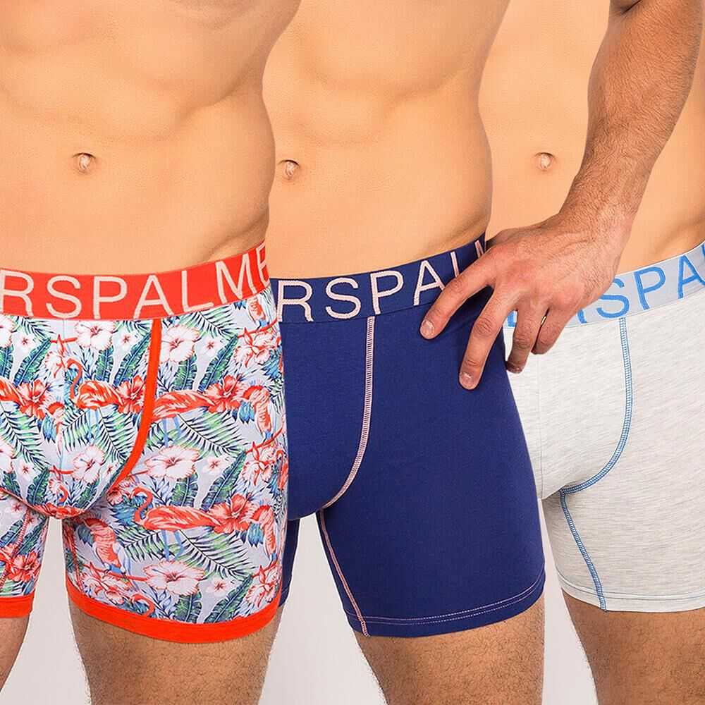 Pack Boxer Largo Hombre Palmers / 3 Unidades image number 0.0