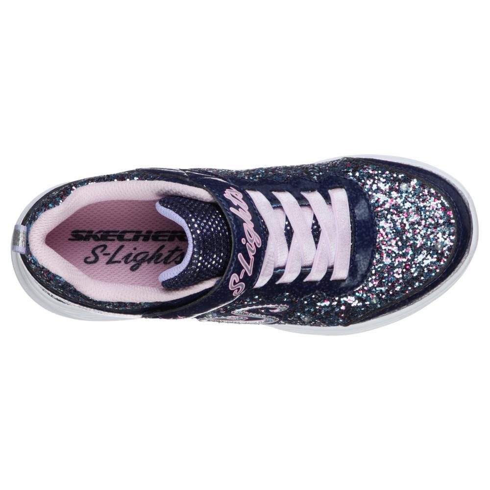 Zapatilla Niña Skechers Glimmer Kicks-glitter N'glow image number 3.0