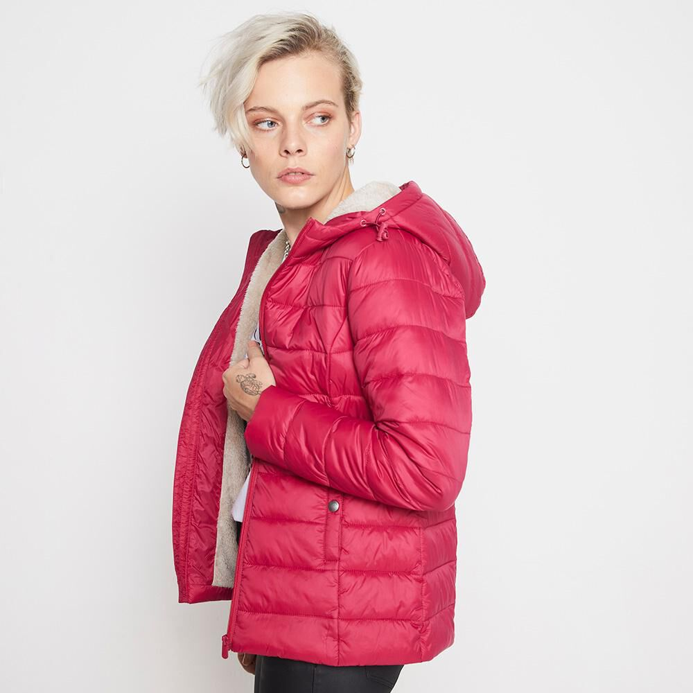 Parka Corta Forro Chiporro Mujer Rolly Go image number 2.0