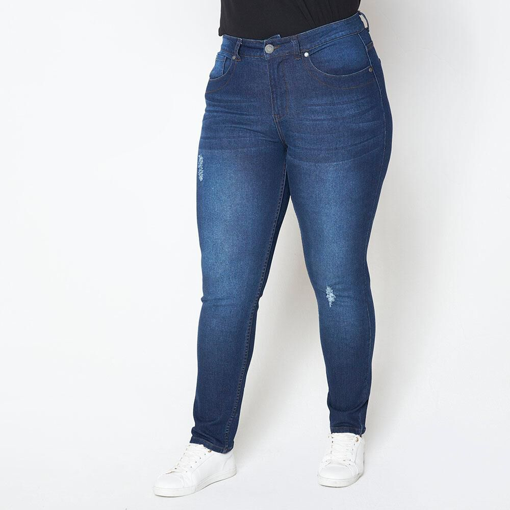 Jeans Tachas Mujer Sexy Large image number 0.0