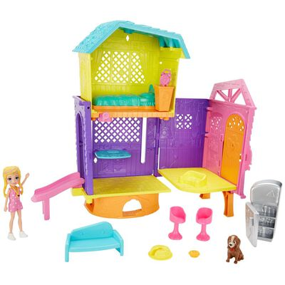 Accesorios Muñeca Polly Pocket Casa Club De Polly