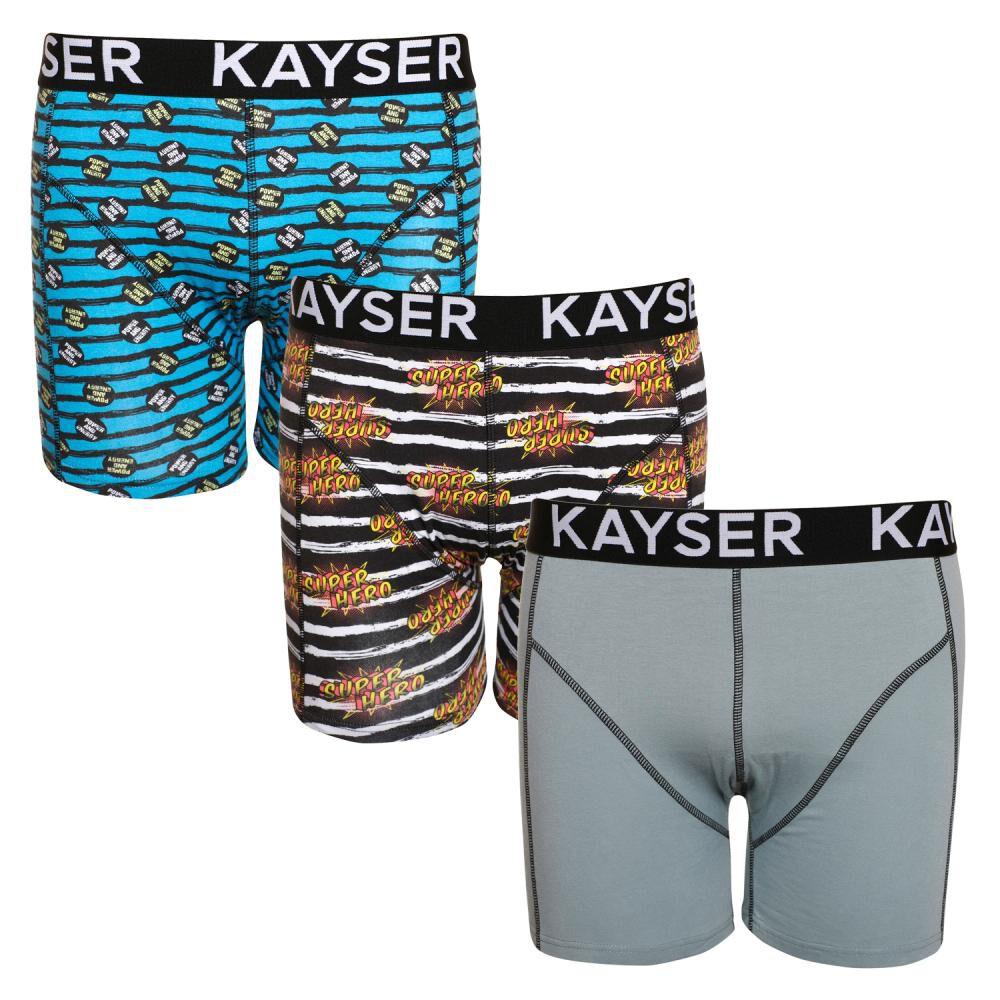 Pack Boxer Hombre Kayser / 3 Unidades image number 7.0