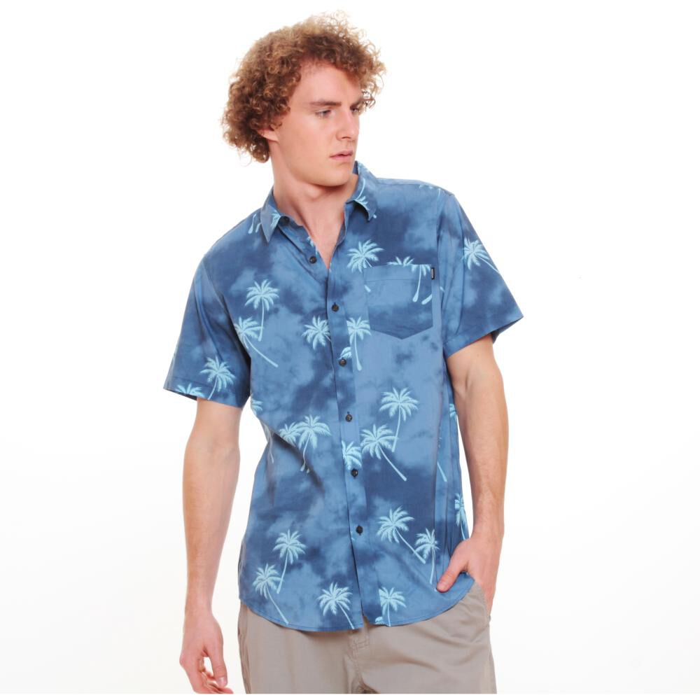 Camisa Hombre Maui Azul image number 2.0