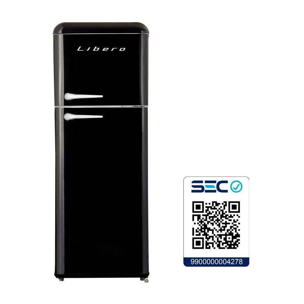 Refrigerador Libero Retro Lrt-210Dfnr Negro / Frío Directo / 203 Litros image number 5.0