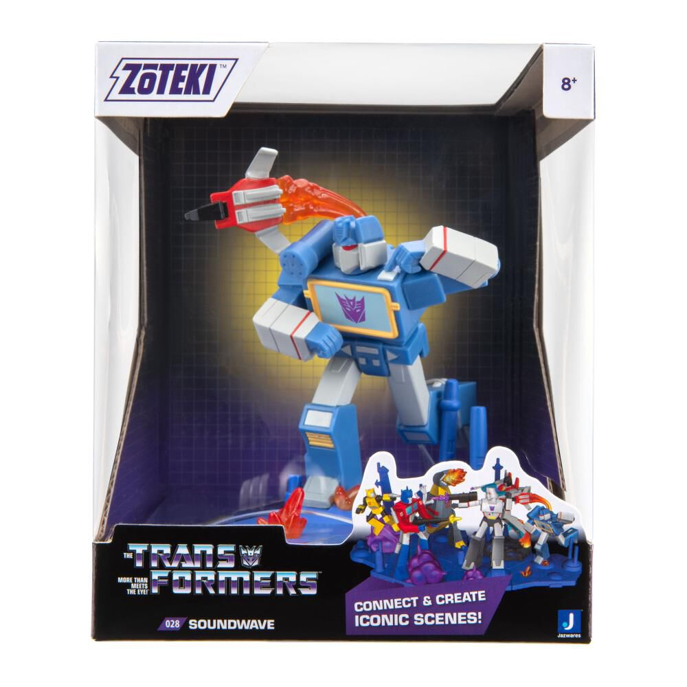 Figura De Acción Zoteki Transformers Soundwave image number 1.0