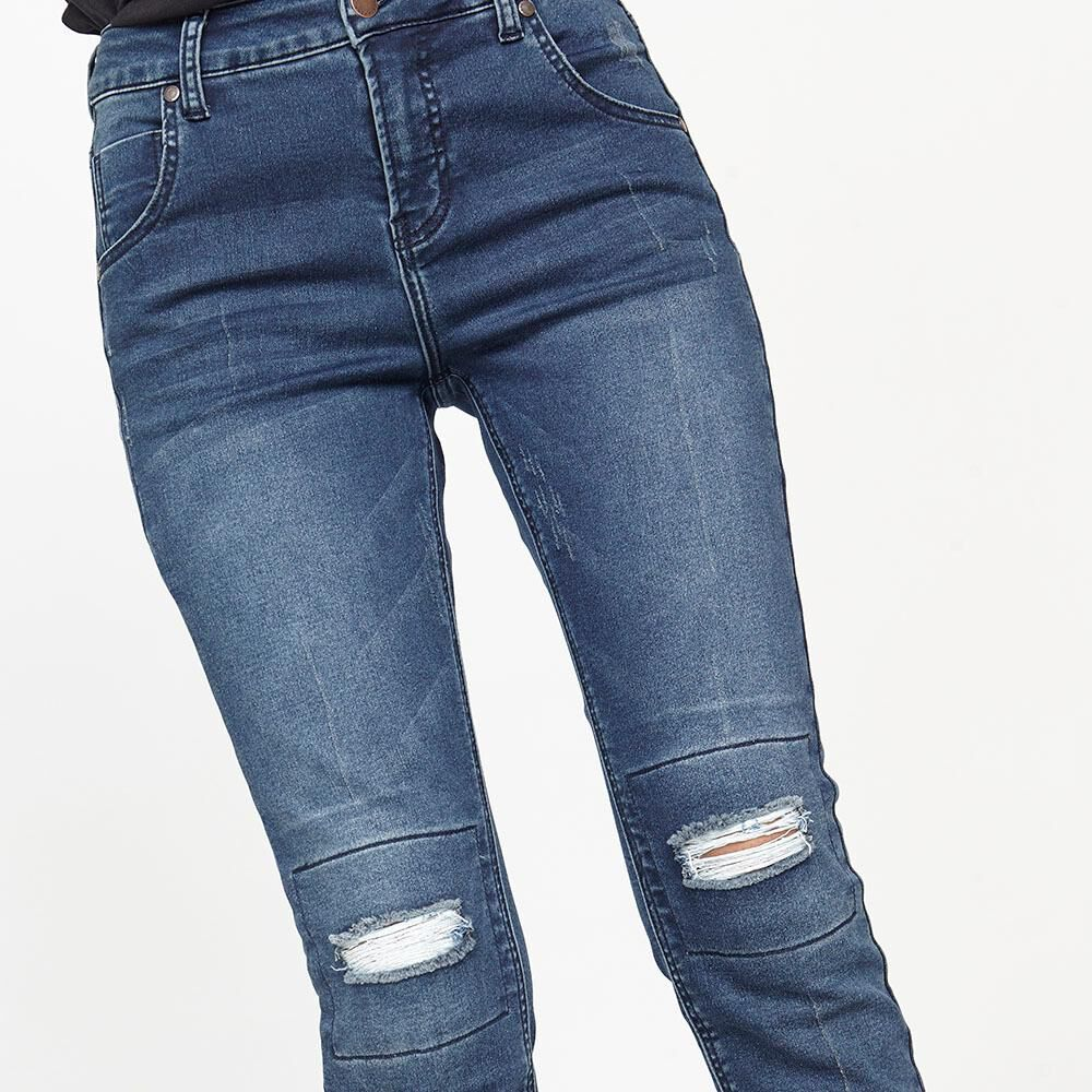 Jeans Mujer Tiro Alto Relaxed Rolly go image number 3.0
