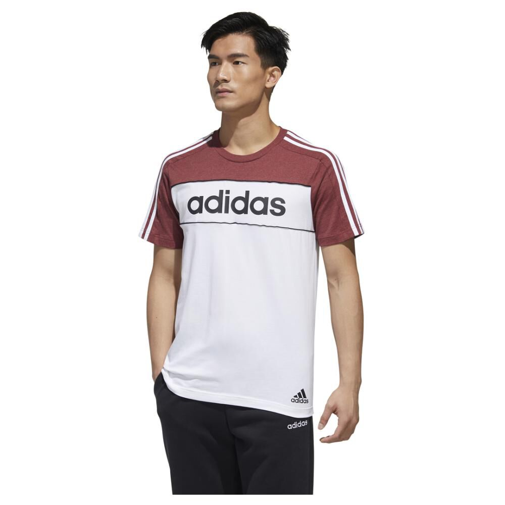 Polera Hombre Adidas Essentials Tape T-shirt image number 0.0