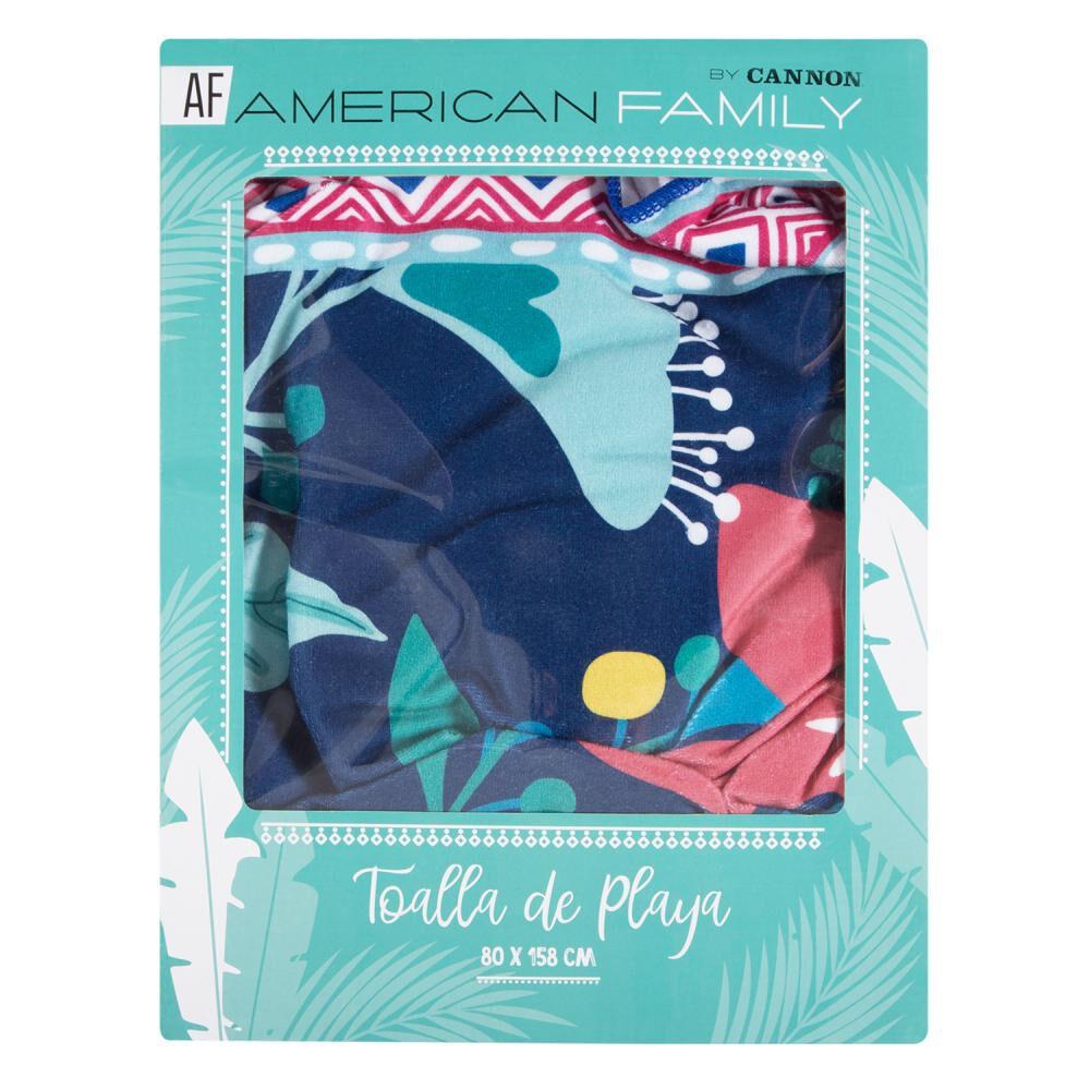 Toallas Playa American Family Blusky  / Playa image number 2.0