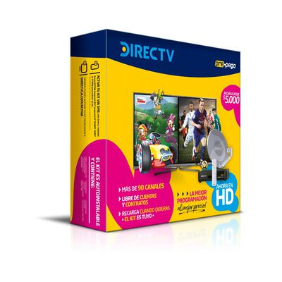 Kit Prepago Hd Direct Tv