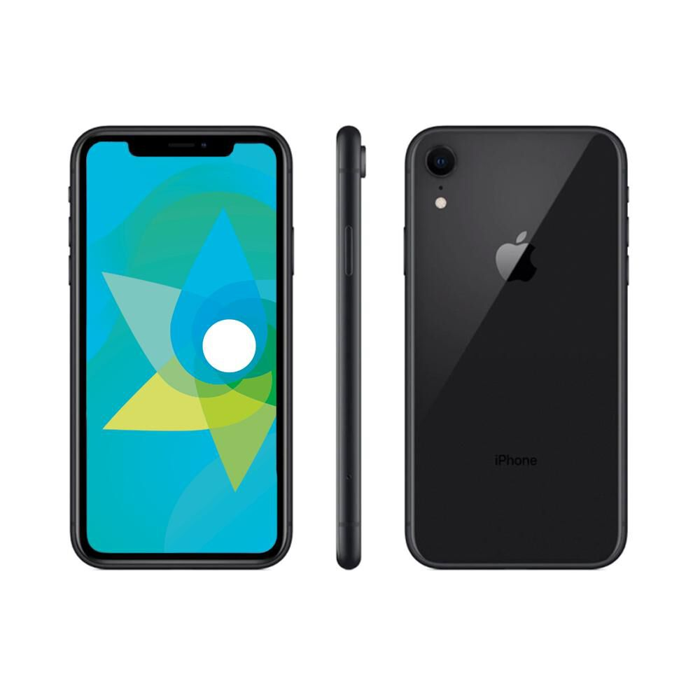 Smartphone Apple Iphone Xr Reacondicionado Negro / 128 Gb / Liberado image number 0.0