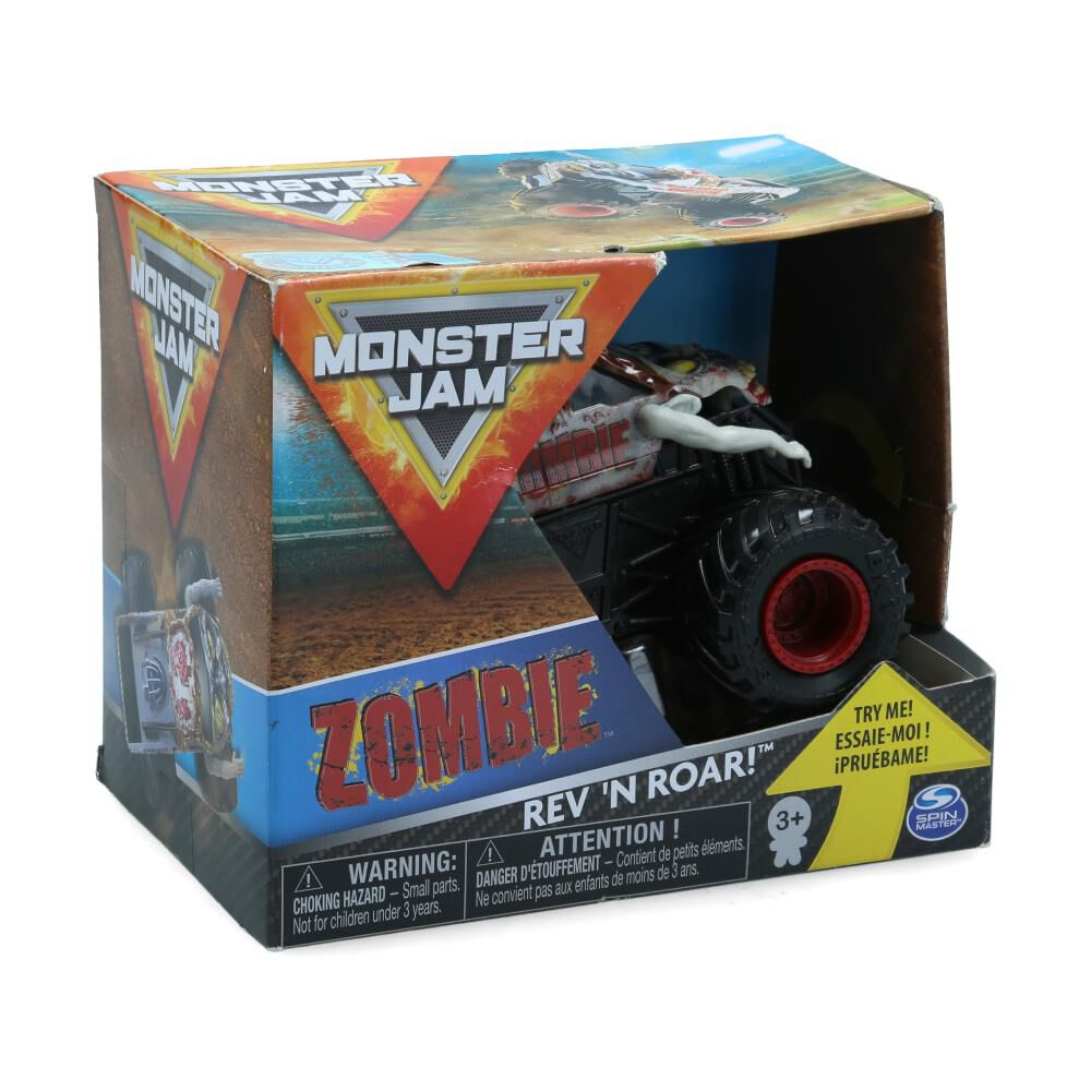Auto De Juguete Monster Jam Zombie Rev 'n Roar image number 0.0