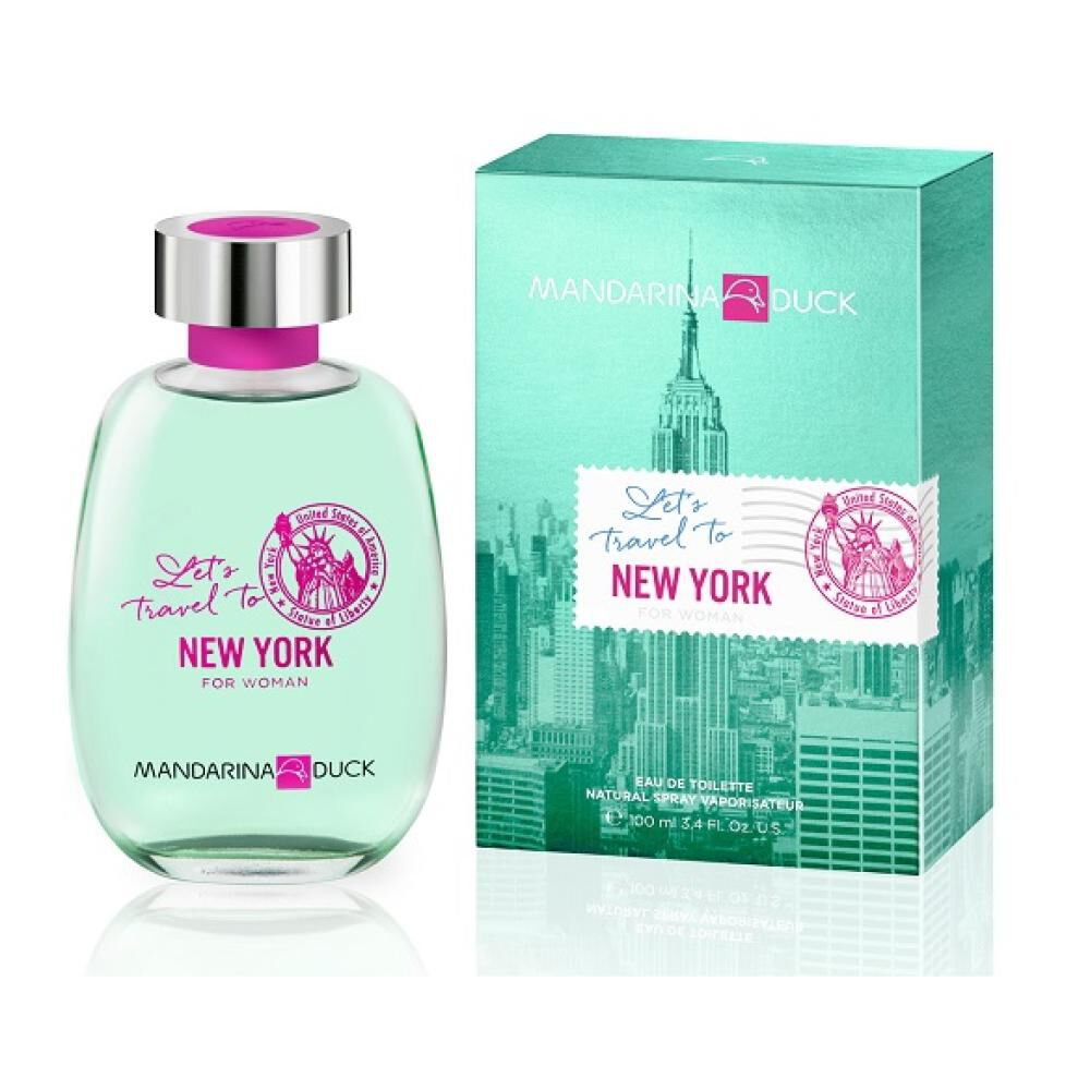 Perfume Let's Travel To New York For Woman Mandarina Duck / 100 Ml / Edt image number 0.0