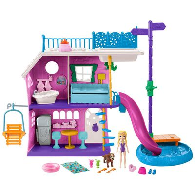 Muñeca Polly Pocket Casa Del Lago