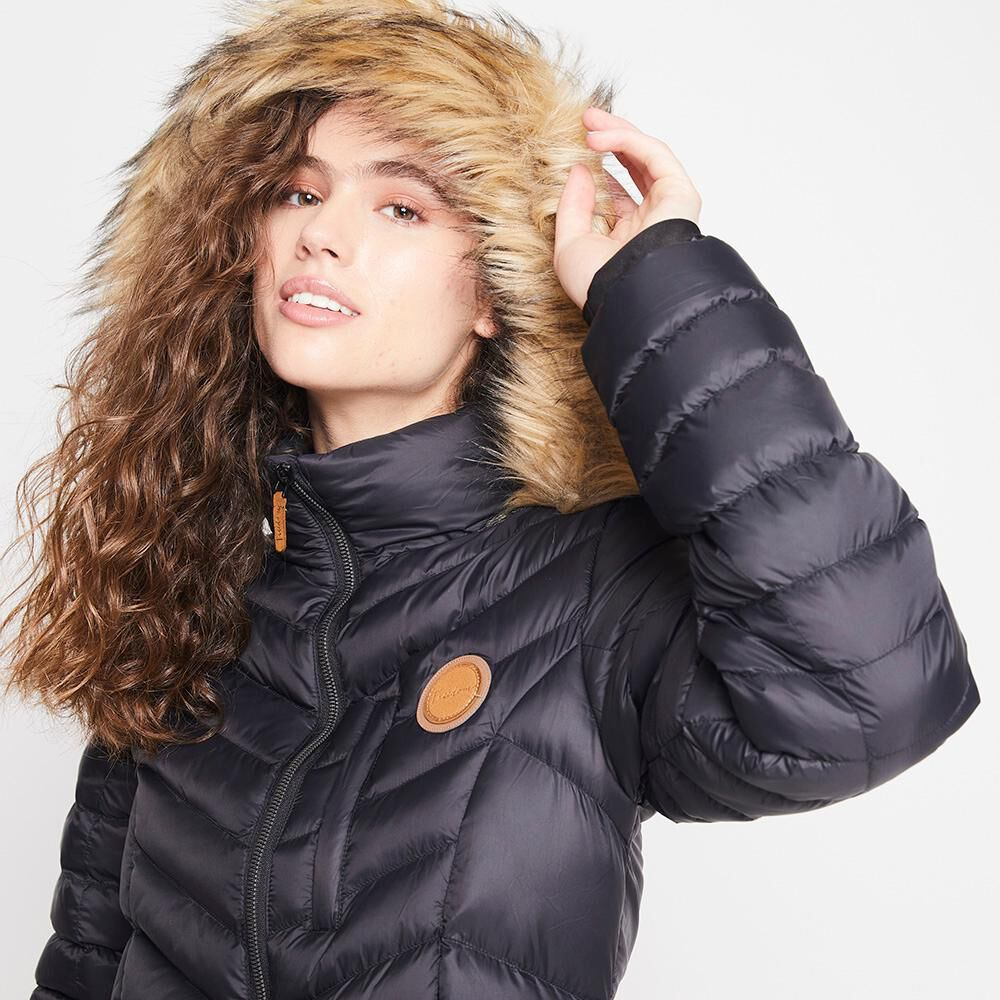 Parka Gorro Chiporro Mujer Freedom image number 3.0