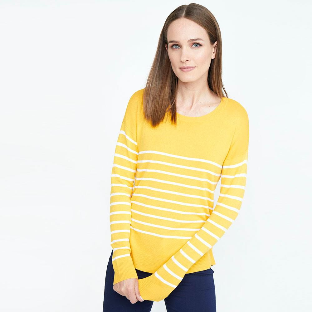 Sweater Rayas Mujer Geeps image number 0.0