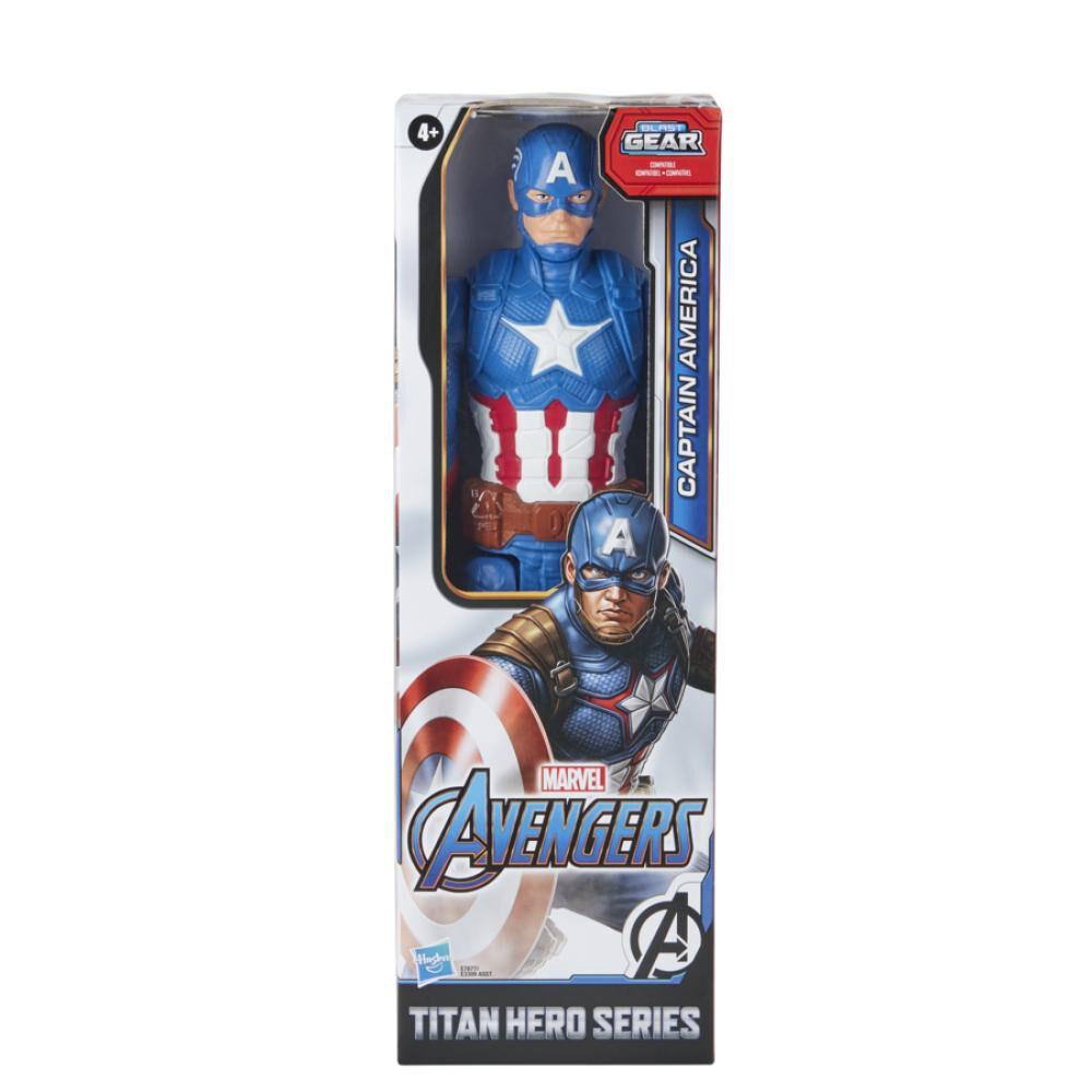 Figura De Accion Avenger Titan Hero Movie Cap image number 1.0