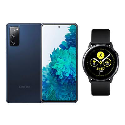 Smartphone Samsung S20fe Azul / 256 Gb + Galaxy Active Black