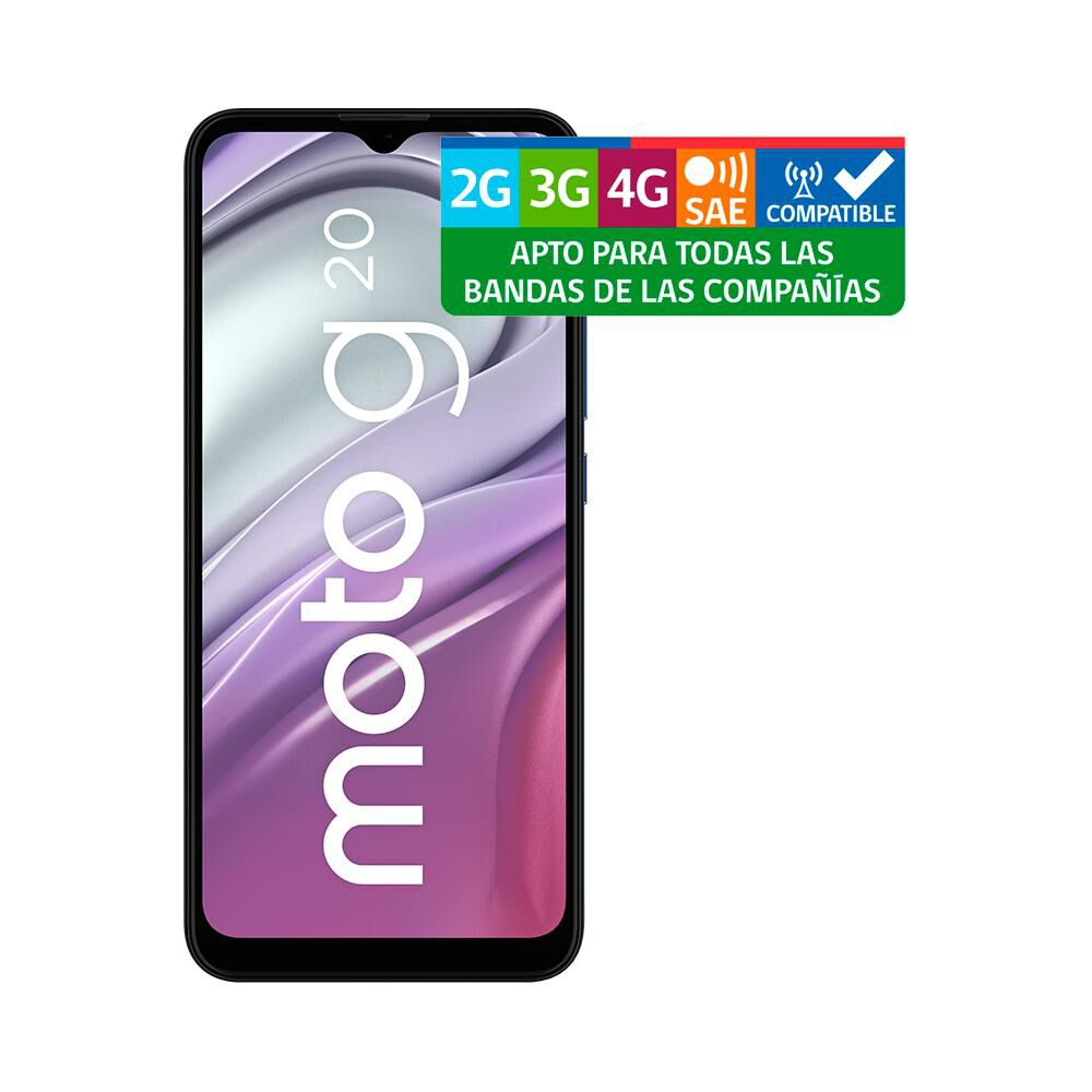 Smartphone Motorola G20 Azul / 64 Gb / Liberado image number 10.0