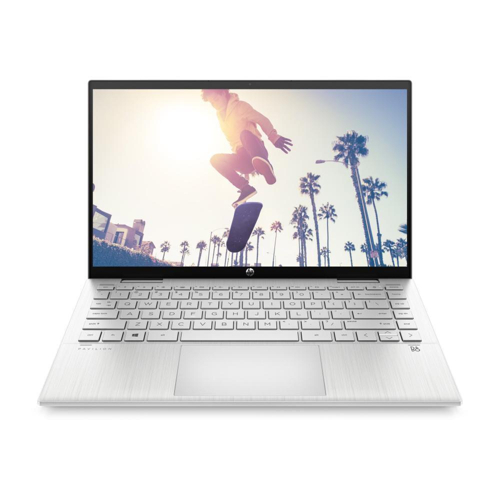 "Notebook Hp Pavilion X360 Convertible 14-dy0002la / Plateado Natural / Intel Pentium / 4 Gb Ram / Intel Uhd / 256 Gb Ssd / 14 "" image number 1.0"