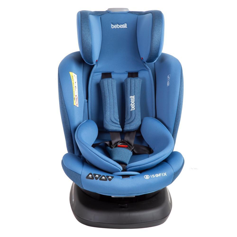 Silla De Auto Ajustable Bebesit S64 Azul image number 9.0