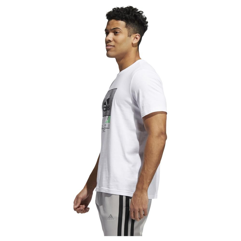 Polera Hombre Adidas Future Hoops Graphic image number 2.0