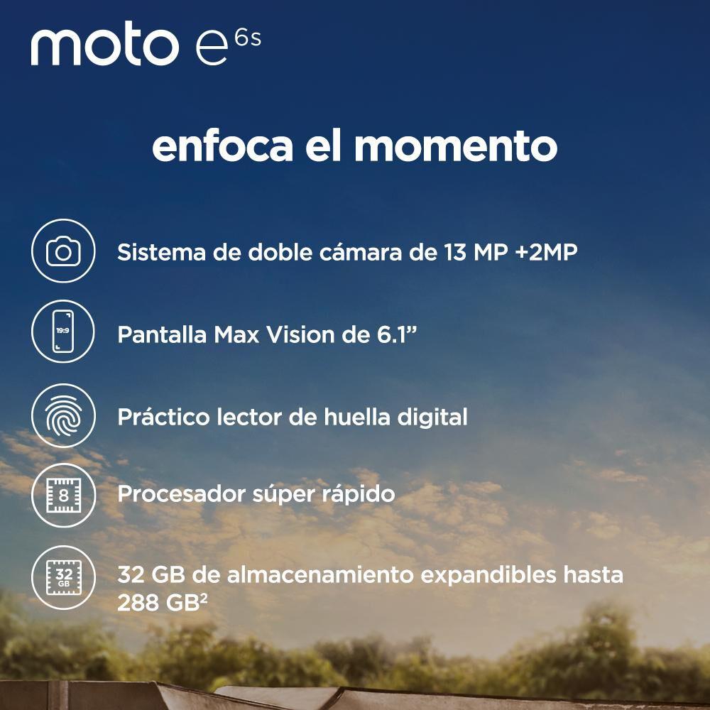 Smartphone Motorola E6s / 32 Gb / Movistar image number 6.0