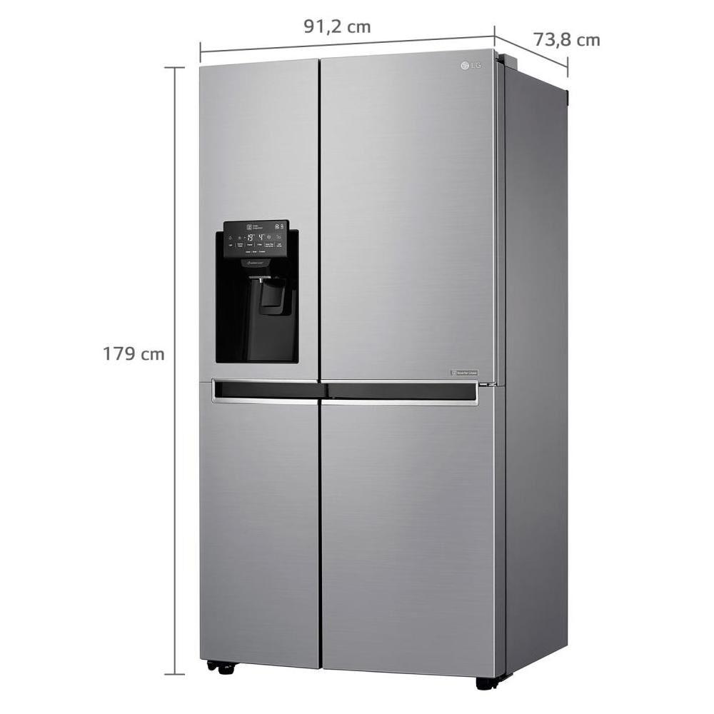 Refrigerador Side By Side LG GS65SPP1 / No Frost  / 601 Litros image number 2.0