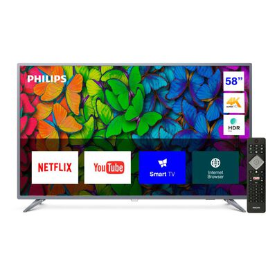 """Led Philips 58PUD6513 / 58"""" / Ultra HD / 4K / Smart Tv"""
