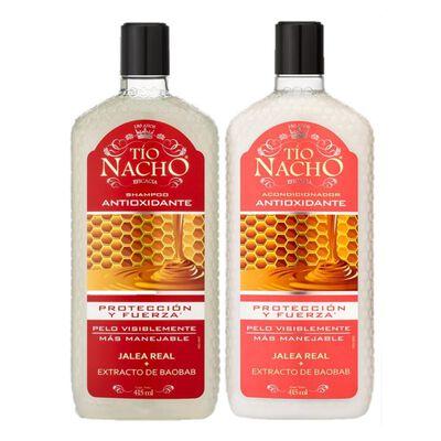 Pack Shampoo + Acondicionador Tío Nacho Antioxidante