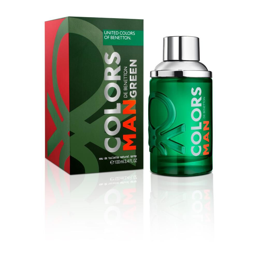 Colors Man Green Edt 100 Ml image number 0.0