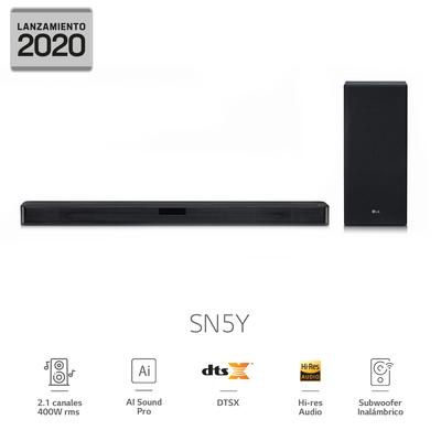 Soundbar LG Barra De Sonido SN5Y 2020