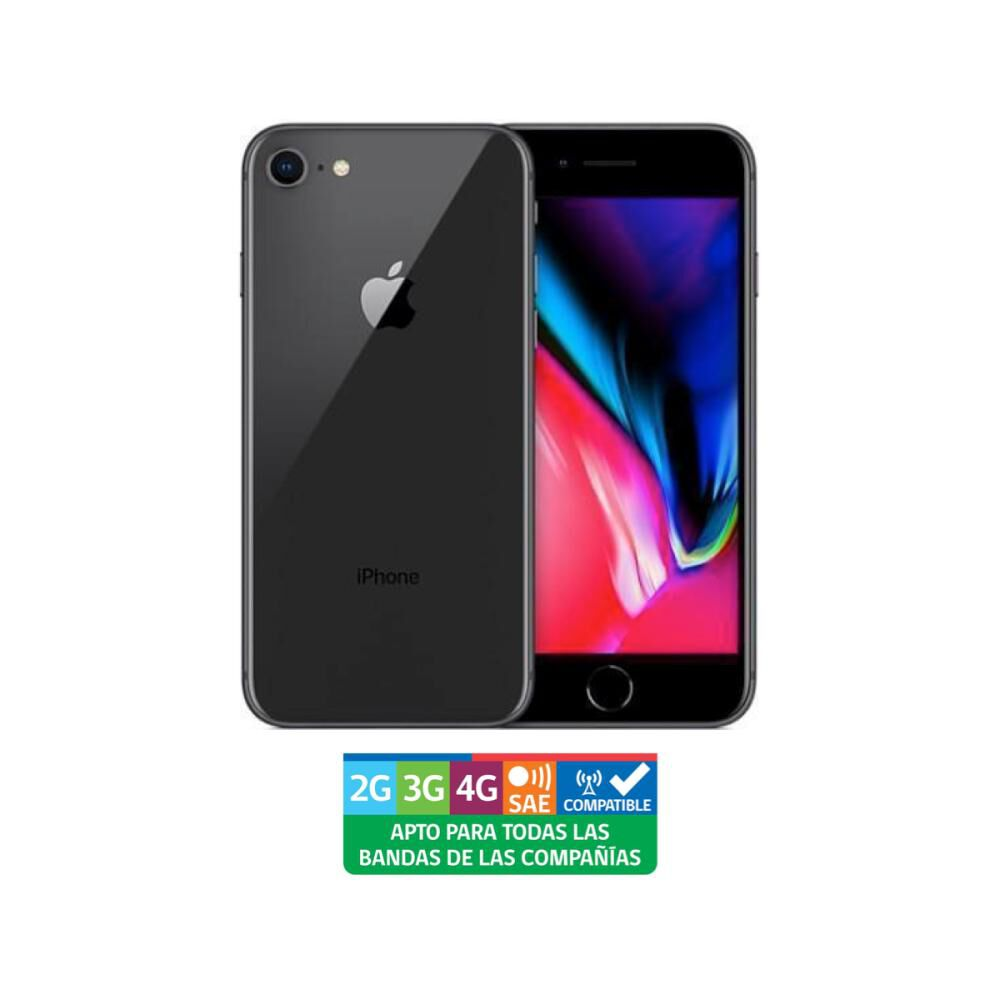 Smartphone Iphone 8 Gris Especial Reacondicionado / 64 Gb / Liberado image number 0.0