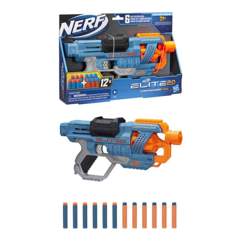 Lanzador Nerf Elite 2.0 Commander Rd-6 image number 2.0