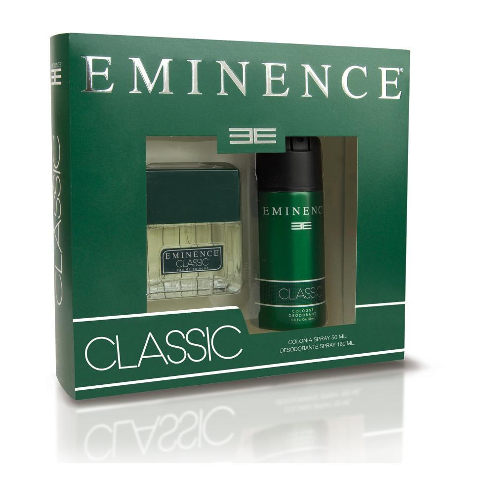 Estuche Classic Eminence / 50 Ml / Edc + Desodorante Spray / 160ml image number 0.0
