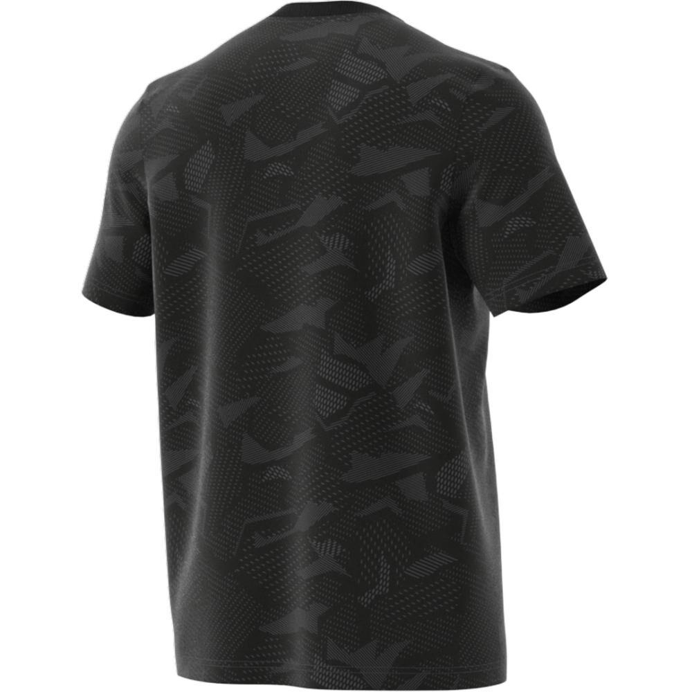 Polera Hombre Adidas Essentials Aop T-shirt image number 5.0