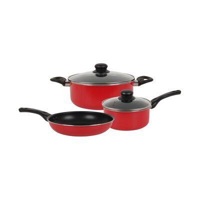 Bateria De Cocina Casaideal Rojo / 5