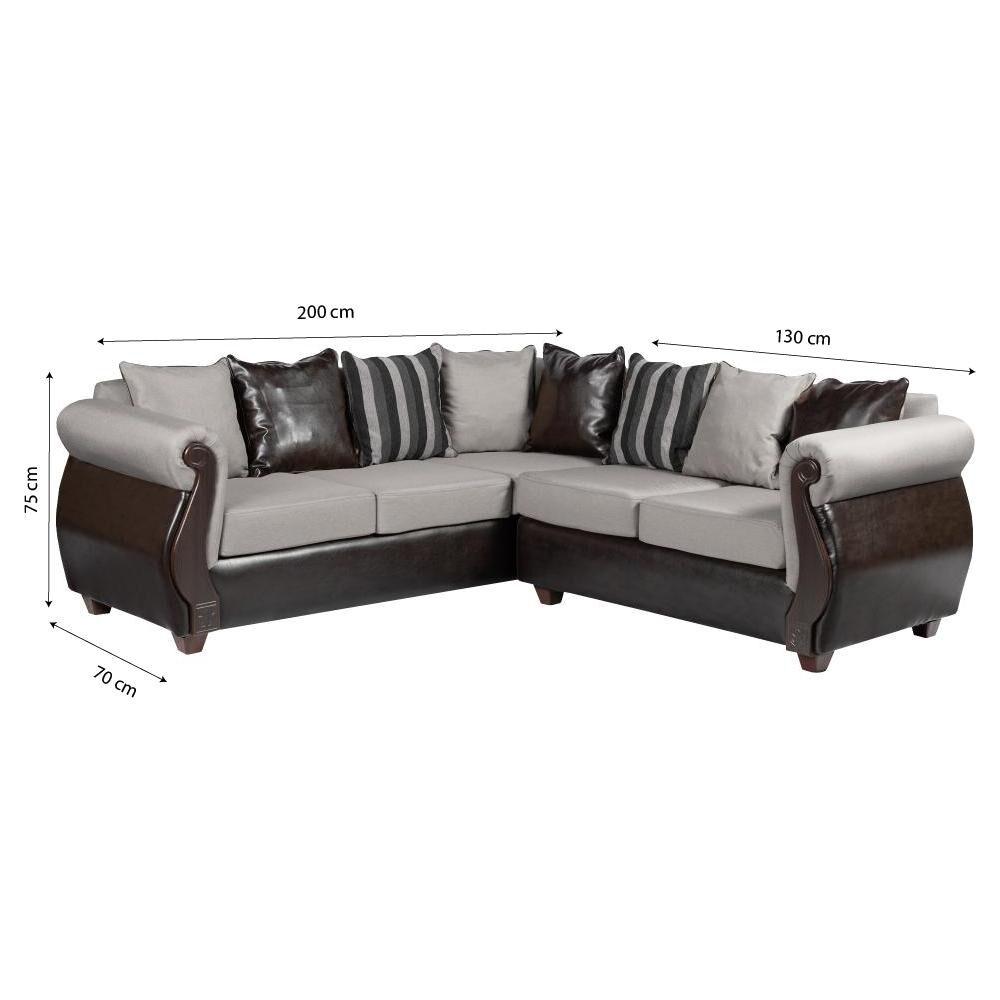 Sofa Seccional Casaideal Bugambilia / 3-2 Cuerpos image number 3.0