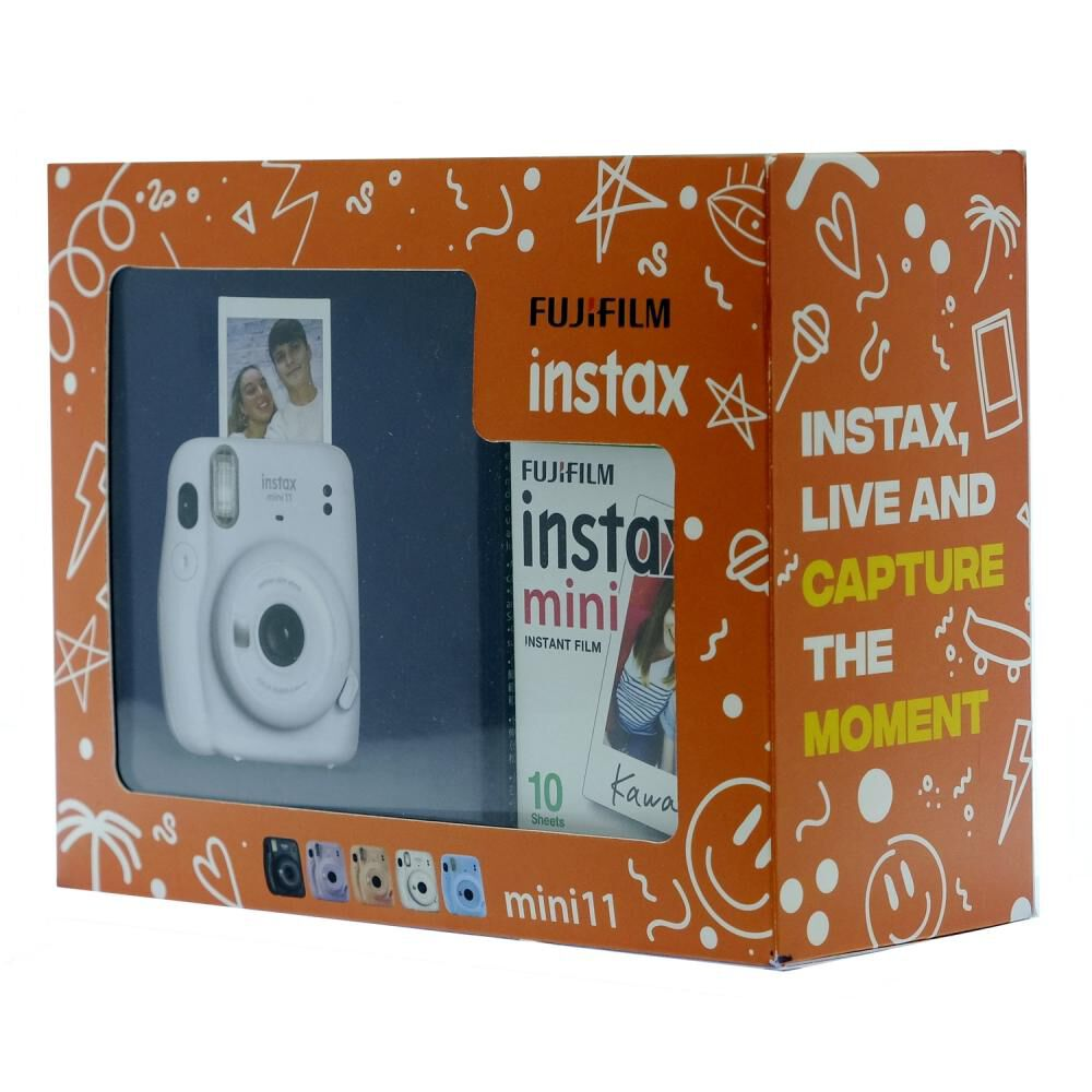 Cámara Instantánea Fujifilm Instax Mini 11 Blanco + Película image number 2.0